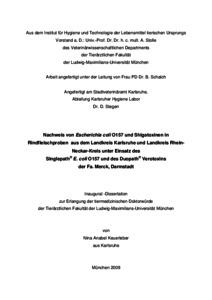 Merck dissertation