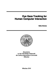 New Interaction - Eye Tracking Essay