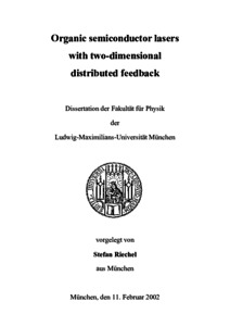 Phd thesis organic semiconductor