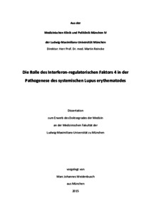 systemischer lupus erythematodes dissertation