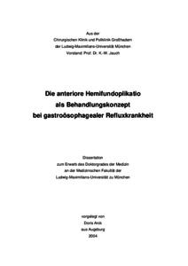 Dissertation medizin lmu mnchen