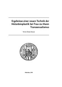 Ergebnisse einer neuen Technik der Metaidoioplastik bei