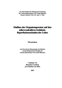 benjamin luchting dissertation